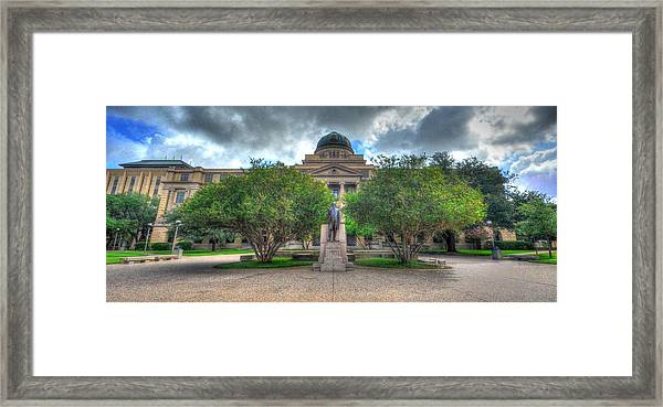 The Academic Building Framed Print