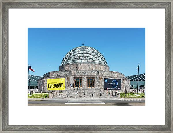 The Adler Planetarium Framed Print