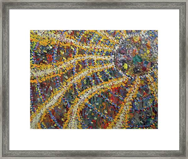 The African Sun Framed Print