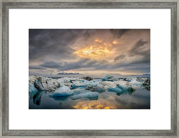 The Afternoon Has Gently Passed Me By Framed Print