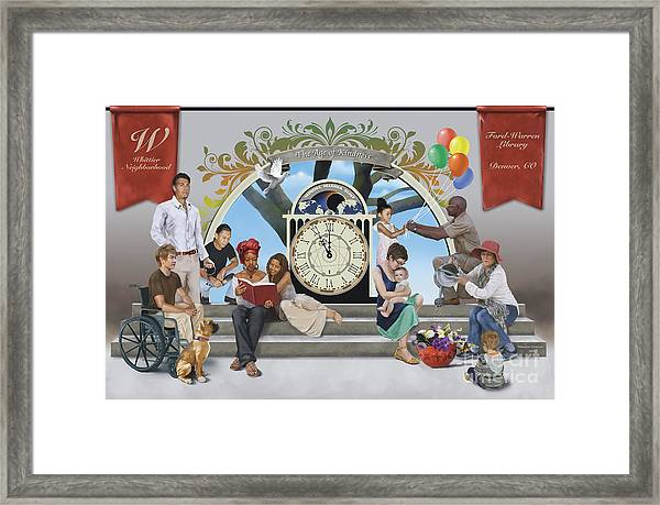 The Age Of Kindness Framed Print