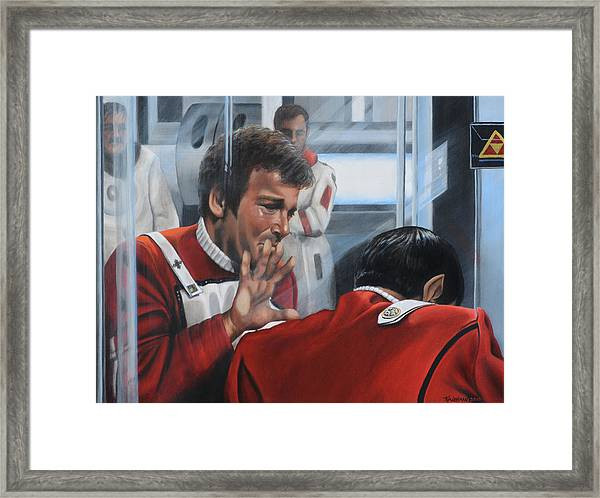 The Agony Of Loss Framed Print