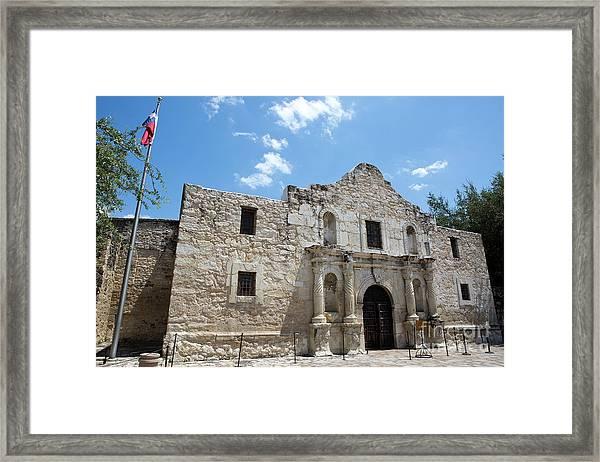 The Alamo Texas Framed Print