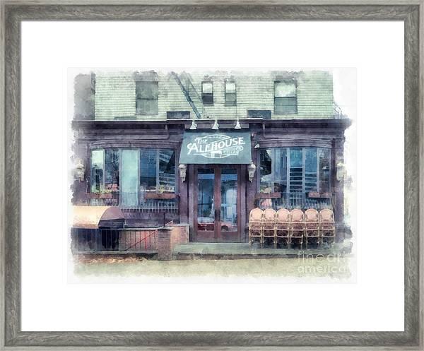 The Alehouse English Cellar Providence Rhode Island Framed Print