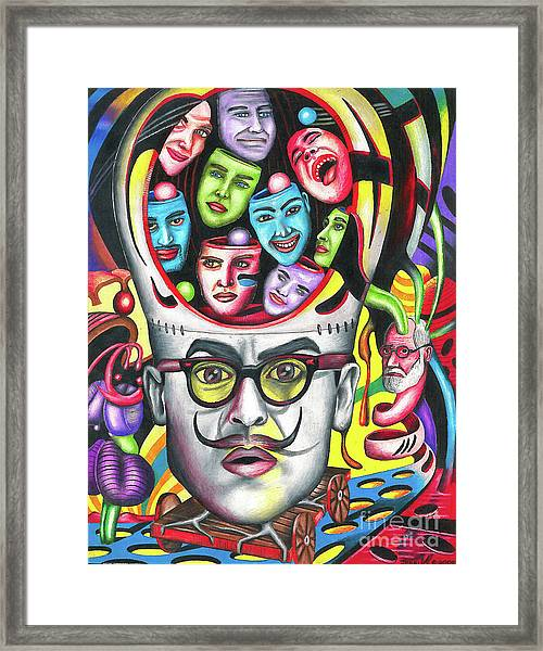 The Alluring Web Of Radical Thought Framed Print