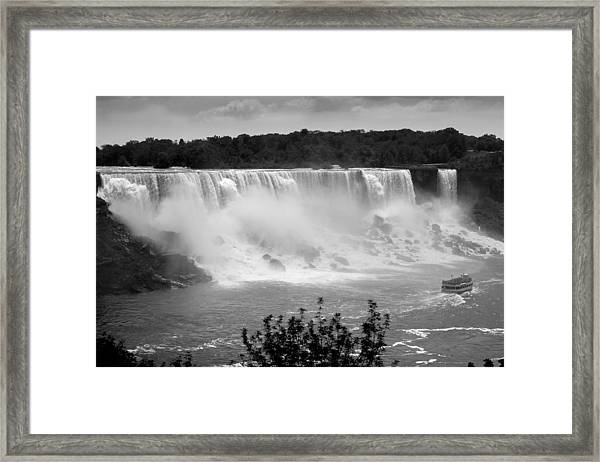 The American Falls Framed Print