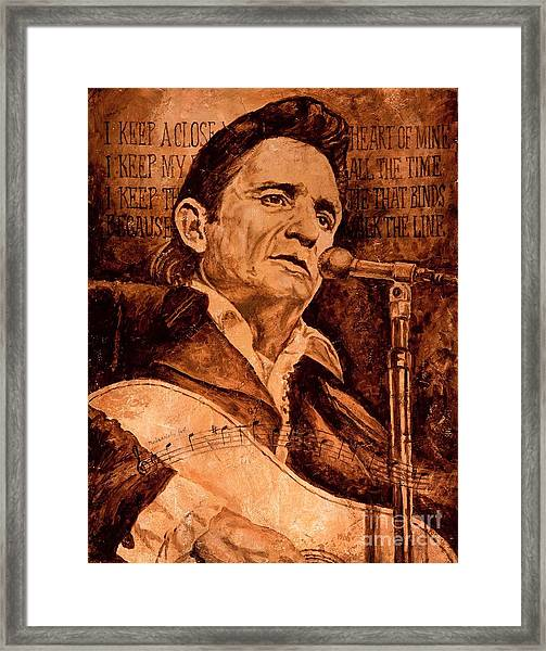 The American Legend Framed Print