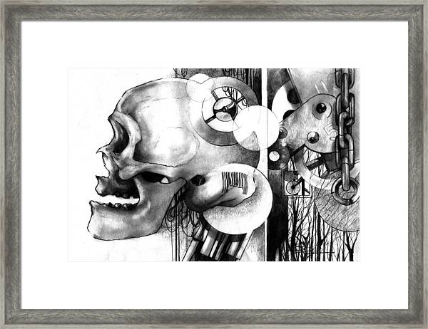 The Ancient Machine Framed Print