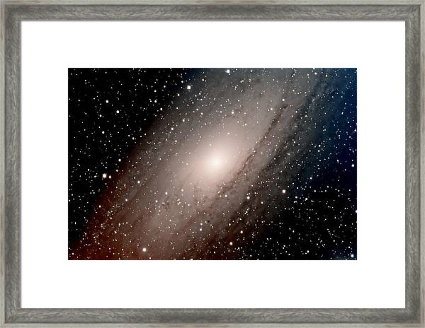 The Andromeda Galaxy Close  Up Framed Print