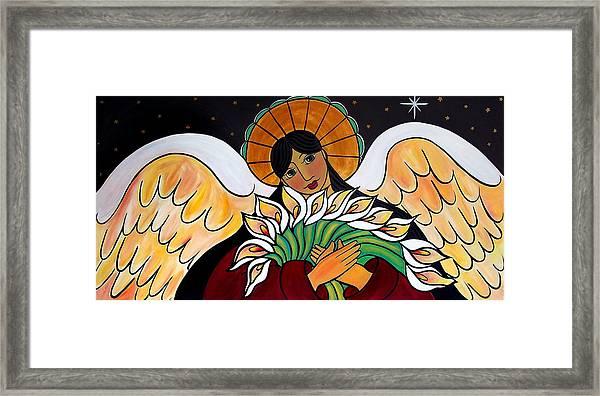 The Angel Of The Resurrection Framed Print