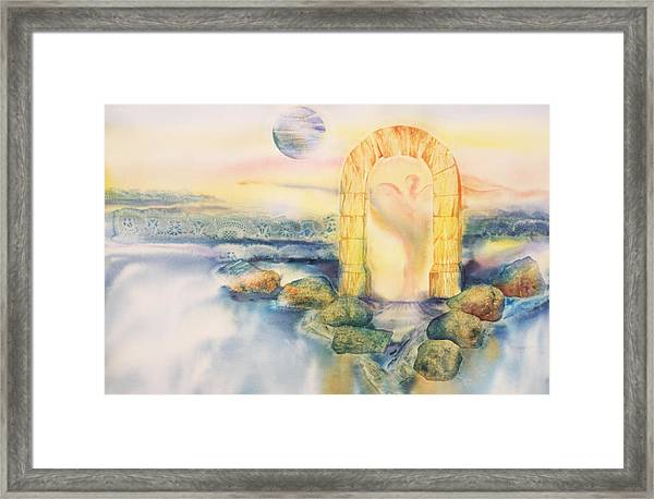 The Angel Within Framed Print