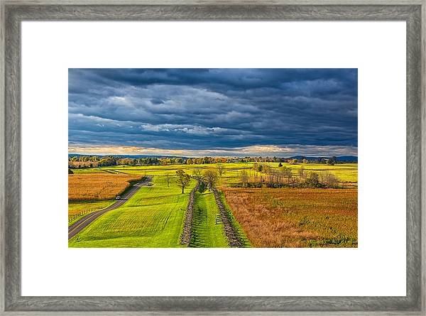 The Antietam Battlefield Framed Print