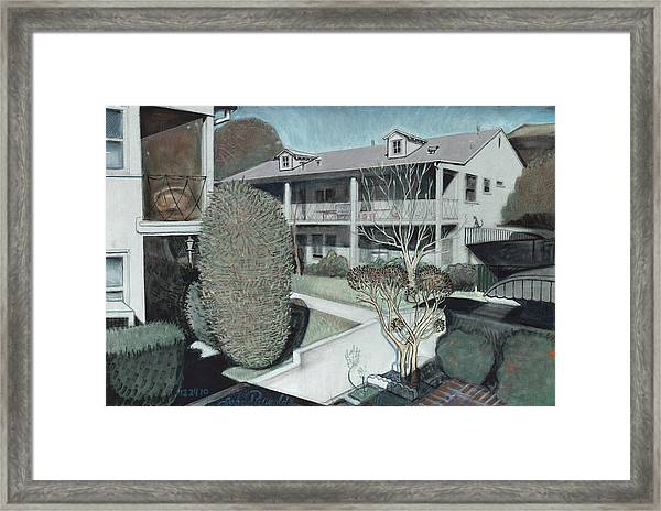 The Apartments Framed Print