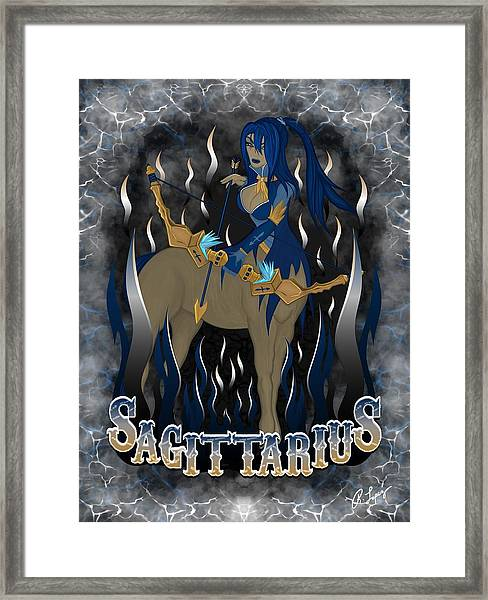 The Archer Sagittarius Spirit Framed Print