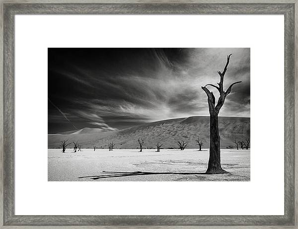 The Army Of The Dead Framed Print