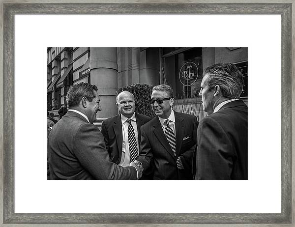 The Art Of The Deal Framed Print