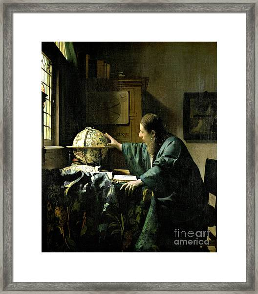 The Astronomer Framed Print