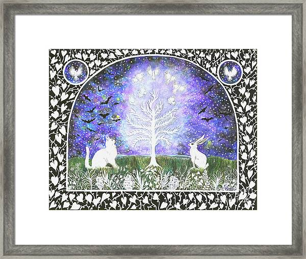The Attraction Framed Print