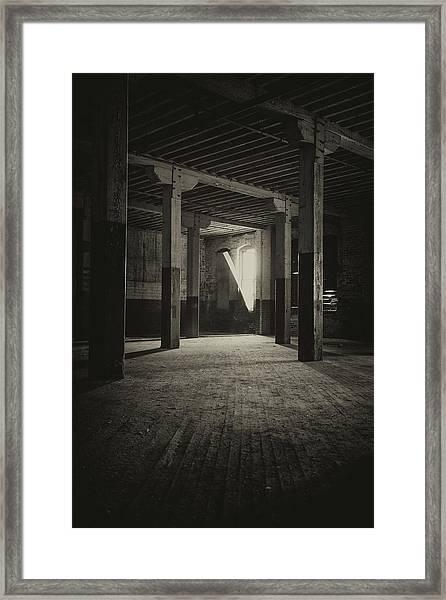 The Back Room Framed Print