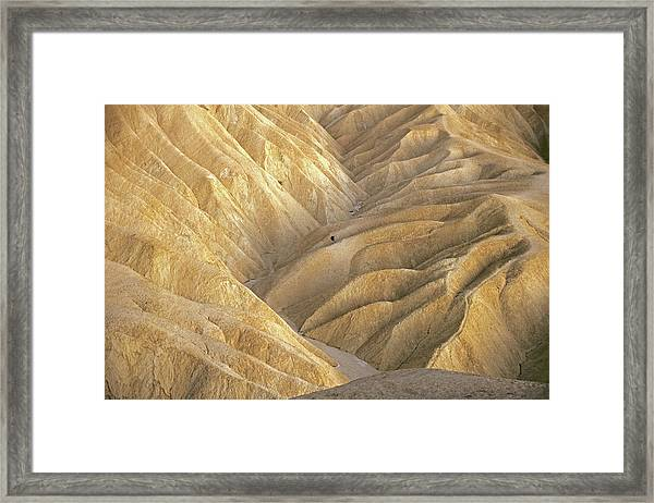 The Badlands Framed Print