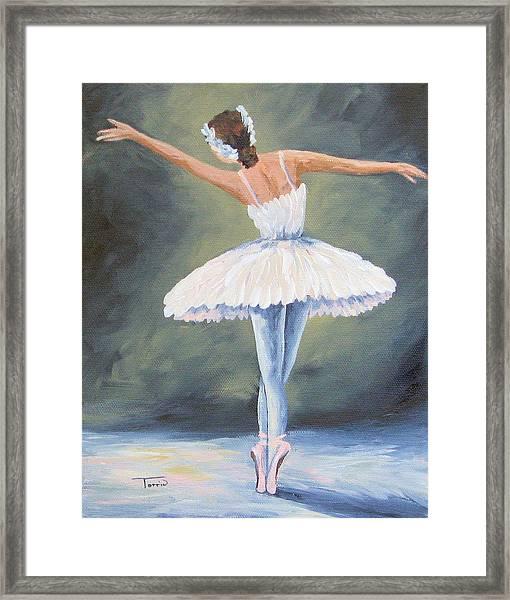 The Ballerina IIi Framed Print