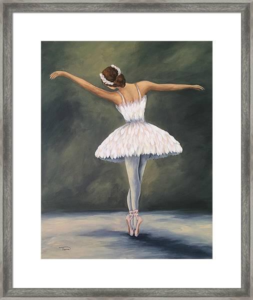 The Ballerina V Framed Print