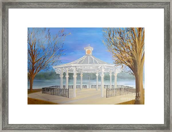 The Bandstand Basingstoke War Memorial Park Framed Print