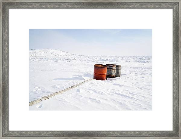 The Barrels Framed Print
