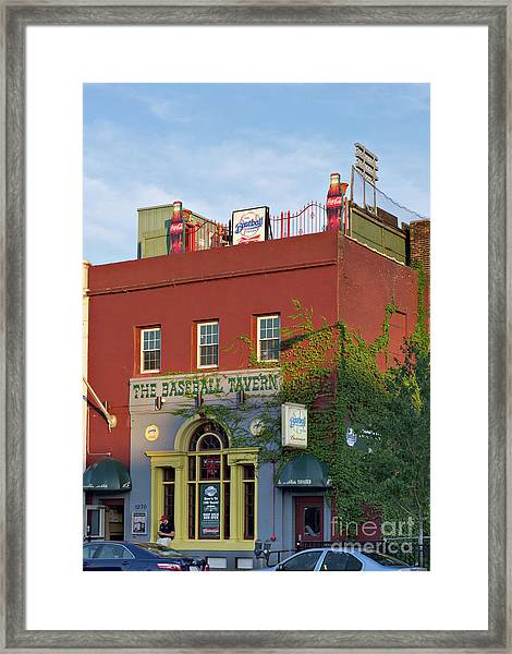 The Baseball Tavern Boston Massachusetts  -30948 Framed Print