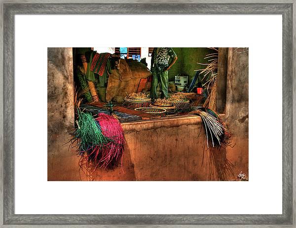The Basket Cooperative Framed Print