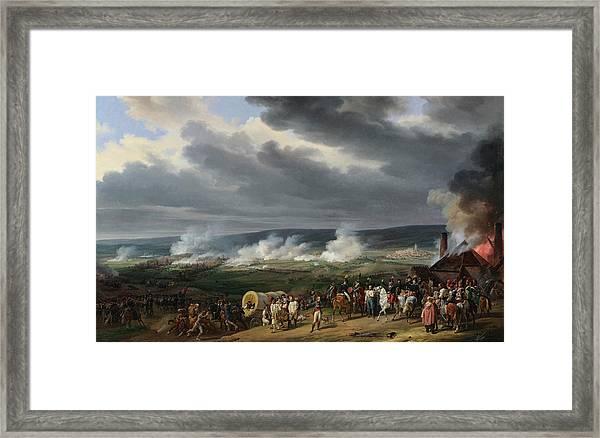 The Battle Of Jemappes Framed Print