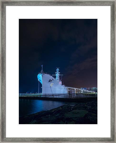 The Battleship 2 Framed Print