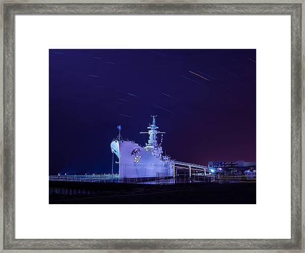 The Battleship Framed Print