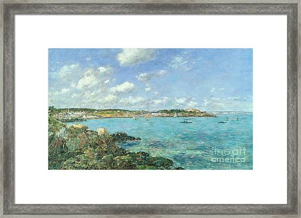 The Bay Of Douarnenez Framed Print