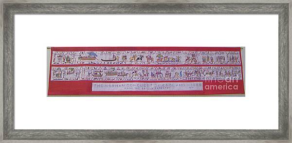 The Bayeux Tapistery Framed Print