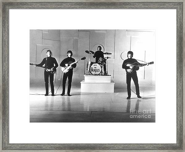 The Beatles, 1965 Framed Print