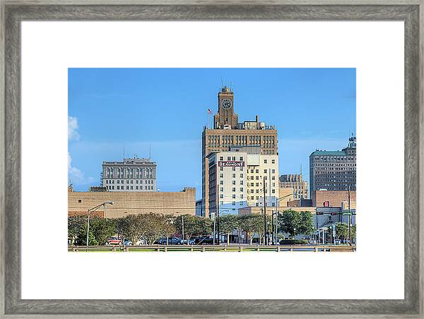 The Beaumont Skyline Framed Print by JC Findley