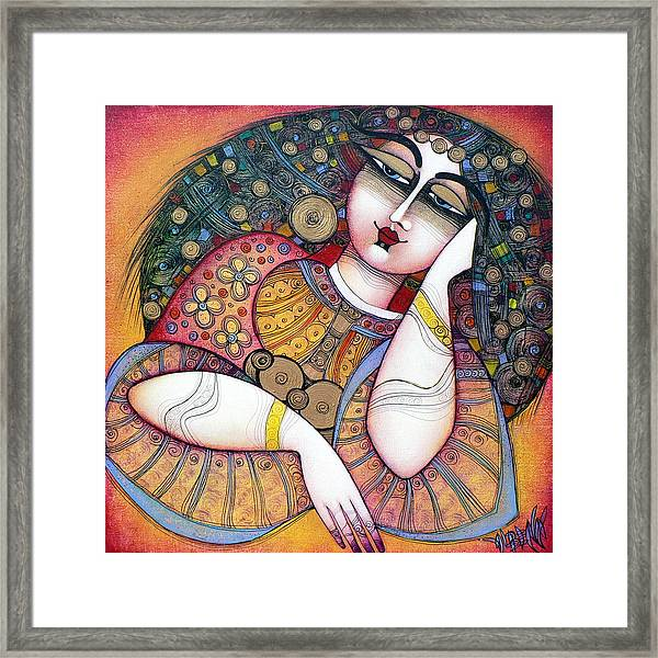 The Beauty Framed Print