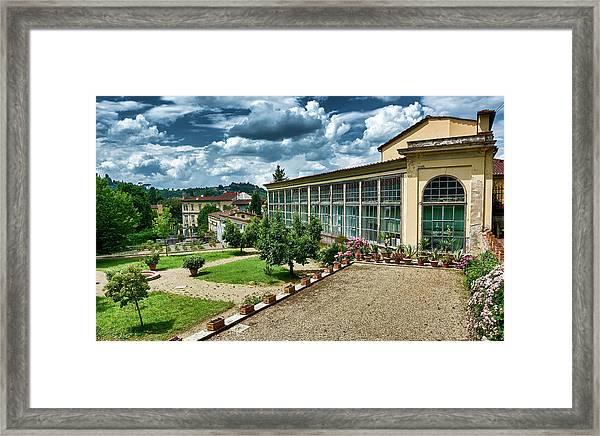 The Beauty Of The Boboli Gardens Framed Print