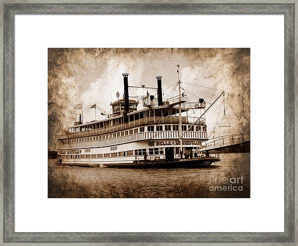 The Belle Of Louisville Kentucky Framed Print