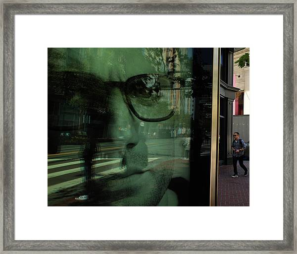 The Better Man Framed Print