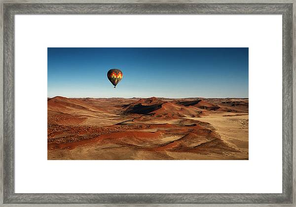 The Better Way For Visiting Framed Print