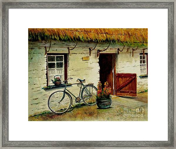 The Bicycle Framed Print