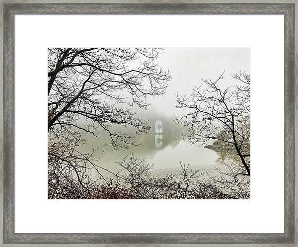 The Big C Framed Print