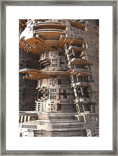 The Big Tower Framed Print
