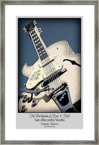 The Birthplace Of Rock N Roll Framed Print
