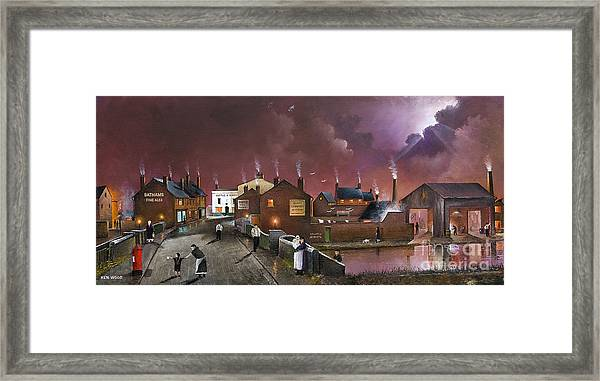 The Black Country Museum Framed Print