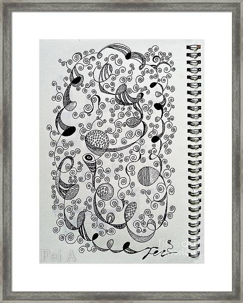 Chopin Nocturne No. 1 In B Flat Minor - Larghetto Framed Print