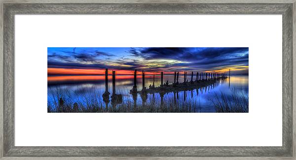 The Blue Hour Comes To St. Marks #2 Framed Print