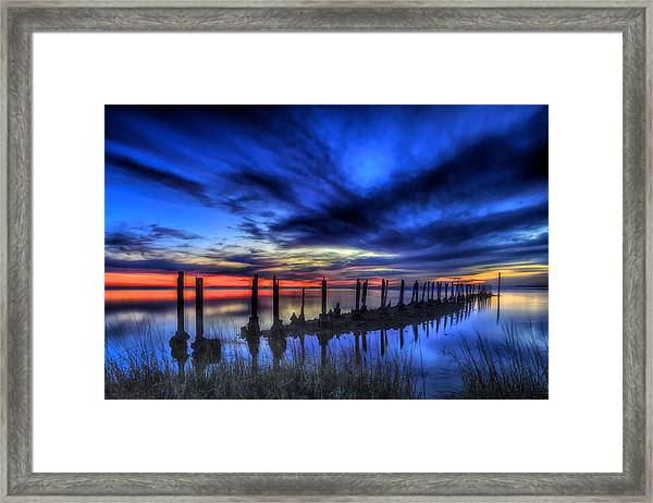 The Blue Hour Comes To St. Marks #1 Framed Print